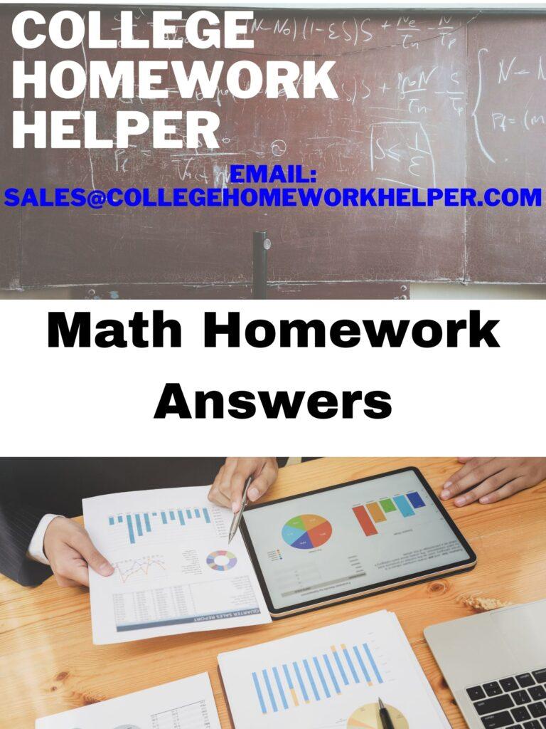 math-homework-answers